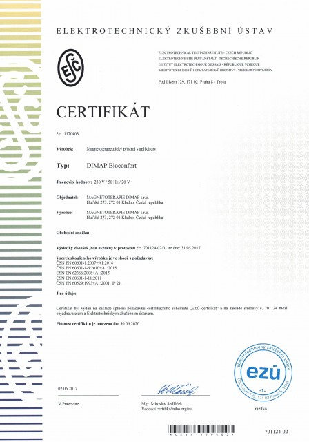 DIMAP Bioconfort CZ
