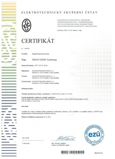 DIMAP D2000 Technimag - CZ
