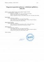 ES certifikát MED 210015 magnetoterapie - příloha